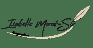 réalisation d'une identité visuelle pour une écrivaine Isabelle Morot-Sir