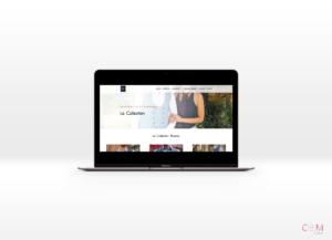 Site vitrine réalisé par Com&yoo pour l'entreprise 3ème Pièce