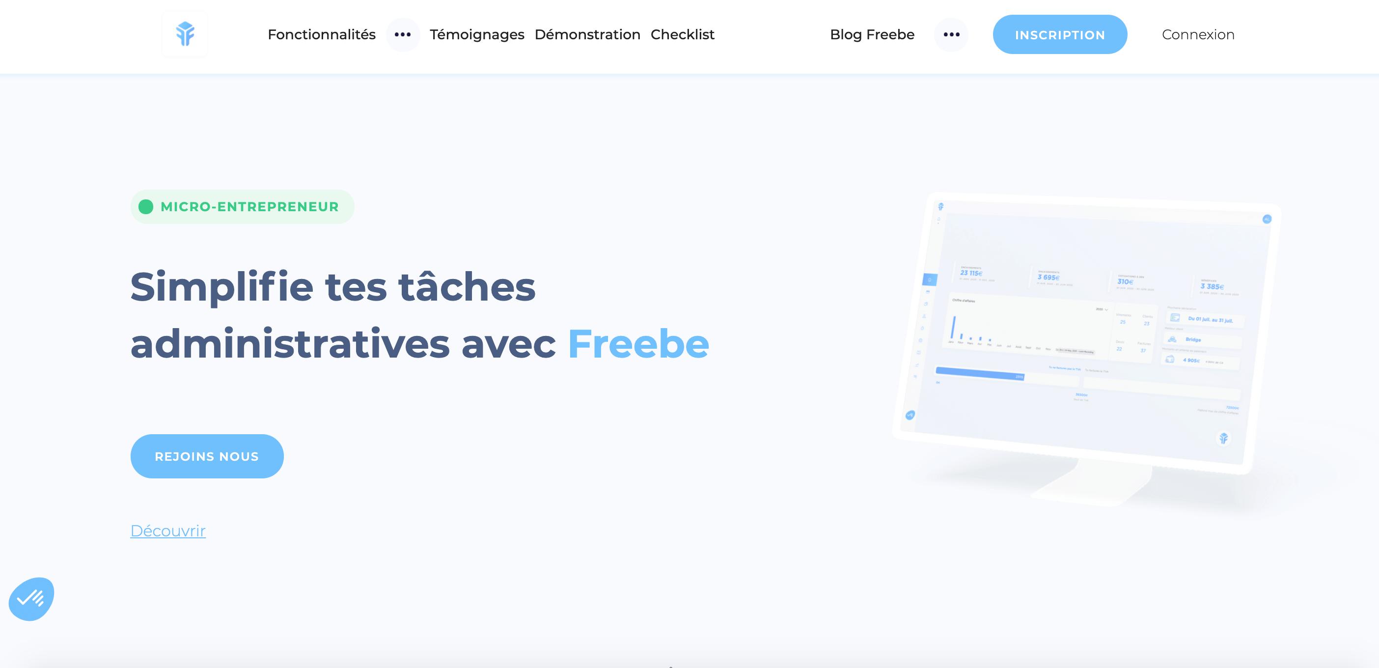 compte logiciel freebe affiliation