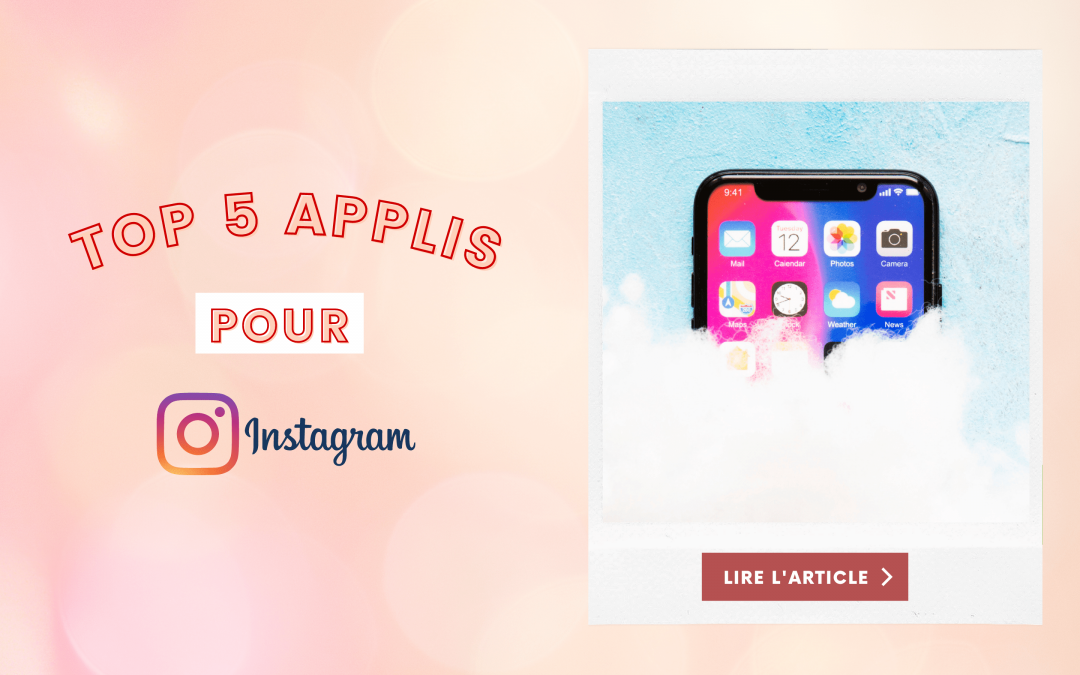 applications mobile pour instagram